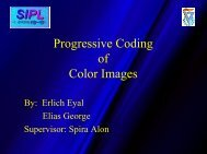 Progressive Coding For Color Images - SIPL