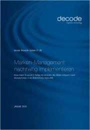 german PDF - Science Update - decode Marketingberatung