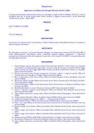 Regolamento Approvato con delibera del Consiglio Direttivo del ...
