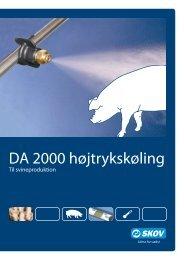 DA 2000 højtrykskøling svin - Skov A/S