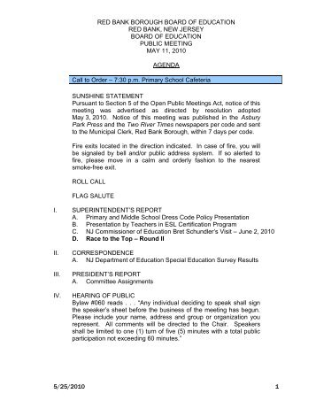 Red Bank Borough Schools Affidavit Of Residency