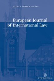 Front Matter (PDF) - European Journal of International Law
