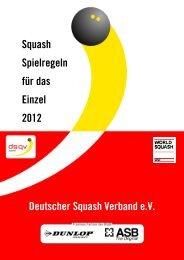 Spielregeln - World Squash Federation