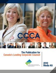 The Publication for Canada's Leading Corporate ... - Rogers Connect
