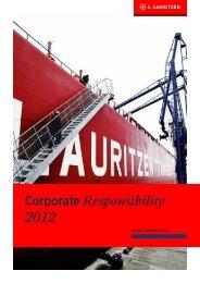 Corporate Responsibility Report 2012 - J. Lauritzen