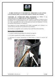 Instrucciones de Instalación - Novosonic