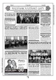 mariánskolázeňský vánoční trh 2011 - Mariánskolázeňské listy