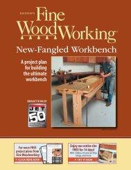 New Fangled Workbench (PDF) - JET Tools