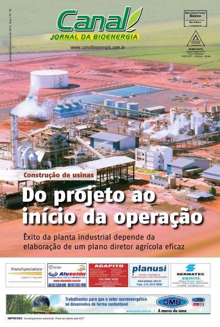 Êxito da planta industrial depende da elaboração de um plano ...