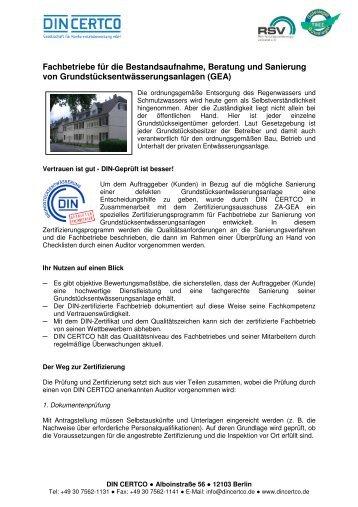 Fachbetriebe Sanierung GEA 16.11.2012