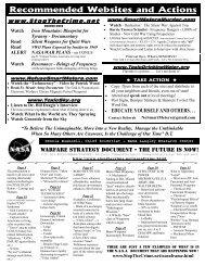 Website Info Flyer - StopTheCrime.net