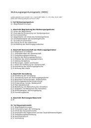 Wohnungseigentumsgesetz (WEG) - RIEDEL Hausverwaltung