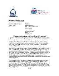 USDEC_NMPF Release on Cuba Ag Legislation 052109.pdf