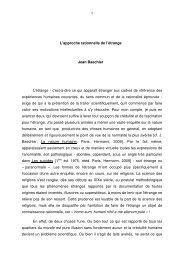 L'approche rationnelle de l'étrange Jean Baechler L'étrange - c'est-à ...
