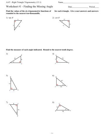 Right triangle congruence worksheet pdf