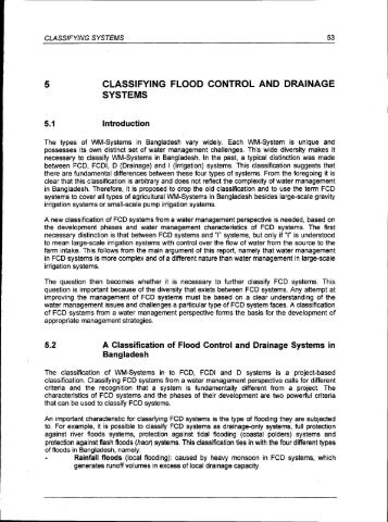 thesis about drainage system