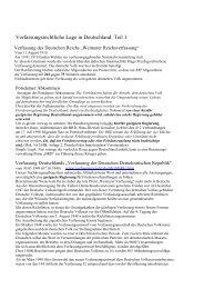 Verfassungsrechtliche Lage in Deutschland Teil 1 - Freiheit ist selbst ...