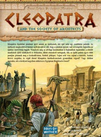 Kleopátra fejedelmi jutalmat ígért annak az építésznek, aki épít neki ...