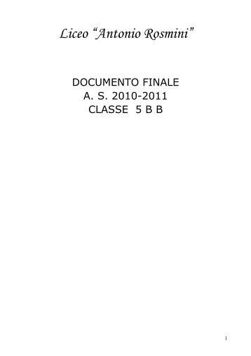 "Liceo ""Antonio Rosmini"" - A. Rosmini"