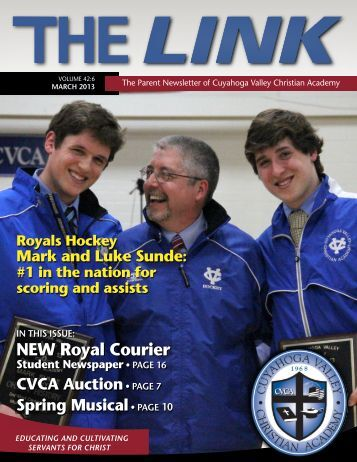 March Link. pdf - Cuyahoga Valley Christian Academy