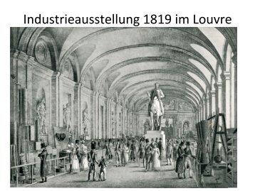 Industrieausstellung 1819 im Louvre - Wissenschaftsforum Saar e.V.