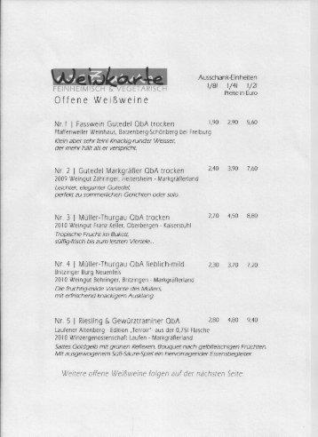Www.esszimmer Kirchzarten.de Magazine, Esszimmer