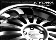 Page 1 Page 2 Page 3 Kvovwa ' RACING KR-703 SIZE ET HOLE ...
