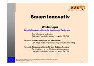 Phys. Peter Pospischil, Energieberater, Neuötting - bauen innovativ