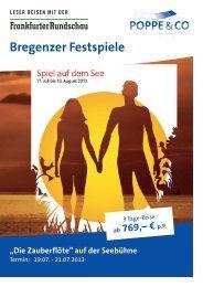 FR Bregenzer Festspiele 2013 (Vorschau)