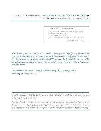 GA MM Kurzprospekt G 2007_02 Proof1 - Keppler Asset Management