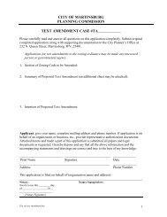 city of martinsburg - TechMethods, LLC - Content Management System
