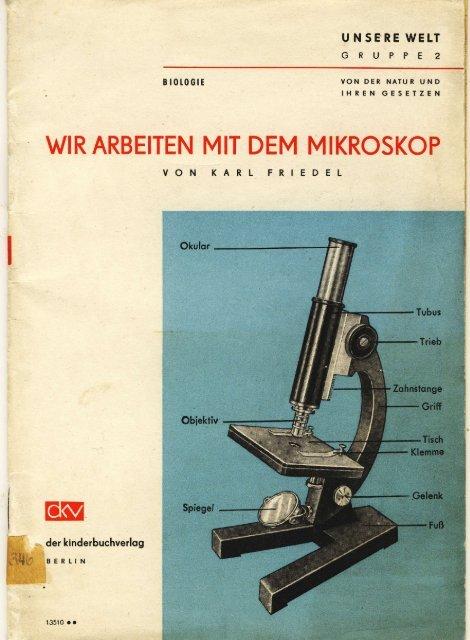 Junge Pioniere - Mikroskopfreunde-Nordhessen