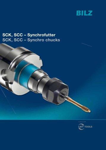 SCK, SCC – Synchrofutter SCK, SCC – Synchro chucks - BILZ