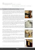 Download watchwinder catalogue - Rapport - Page 4