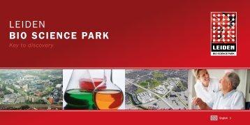 Brochure on Leiden Bio Science Park English Version