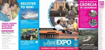 to view Savannah Expo flyer - FeedDealer.Com