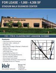 Stadium Walk Business Center - Voit Real Estate Services