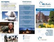 Eligibility & Enrollment Brochure - VA Butler Healthcare