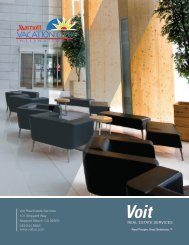 to download the brochure - Voit Real Estate Services