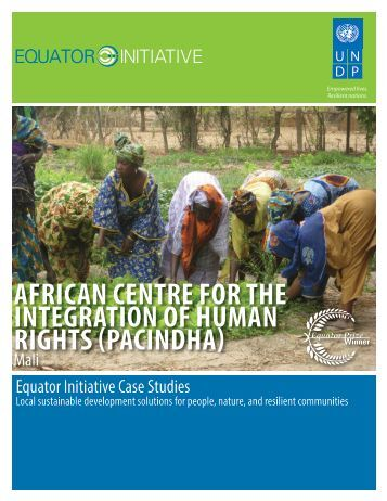 pacindha - The GEF Small Grants Programme - United Nations ...