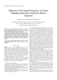 Influence Of The Signal Frequency On Vortex Shedding Induced By ...