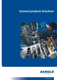 General Products Brochure - Renold
