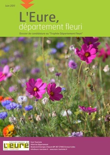 département fleuri - Eure Tourisme