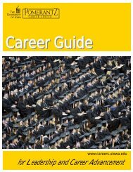 Career Guide - Pomerantz Career Center - University of Iowa