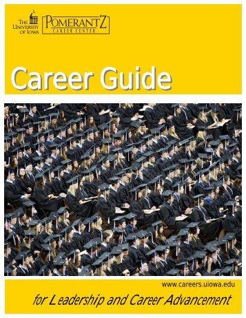 Career Guide - Pomerantz Career Center - University of Iowa