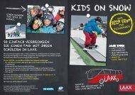 Kids on snow - Laax