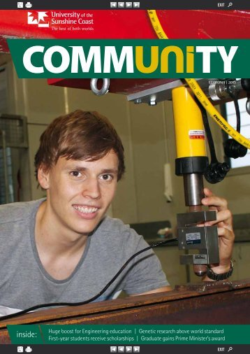 Edition 1, 2013 - University of the Sunshine Coast
