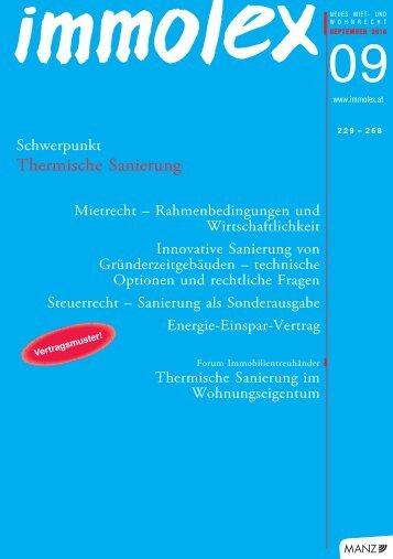 Thermische Sanierung - Online Hausverwaltung ...