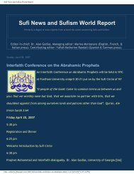 Sufi News and Sufism World Report - Pave the Way Foundation
