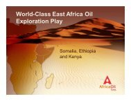 AOI September, 2009 - Africa Oil Corp.